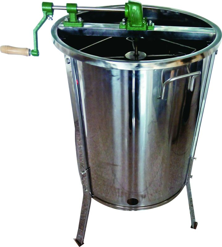 4 Frame Stainless Steel Honey Extractor With Metal Legs For Beekeeping